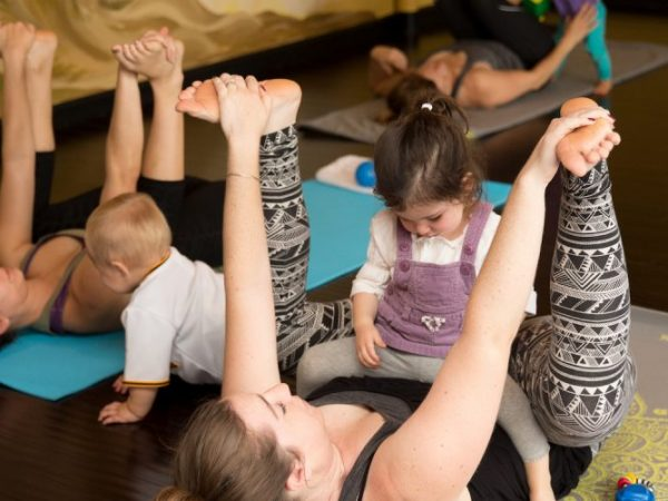 Strong Families Power Yoga at Yoga Innovations Pittsburgh (Bethel Park)