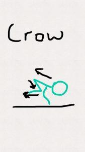 crow-stick-figure