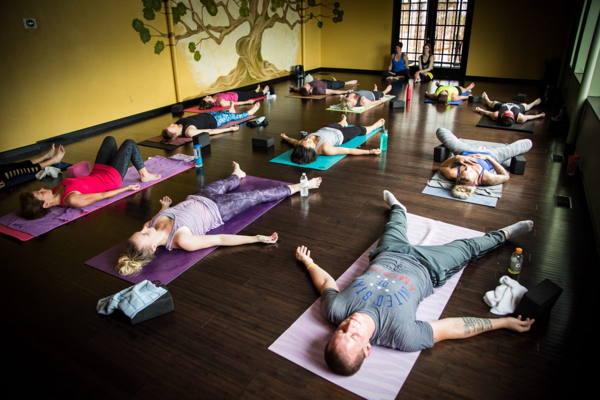 "Audio Yoga Class from Yoga Innovations ""How's the Weather?"""