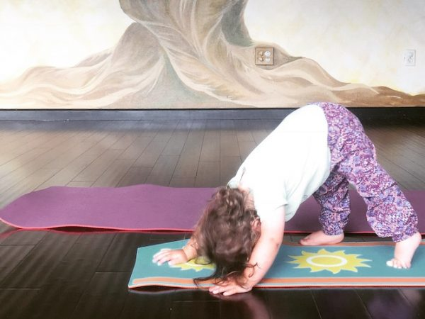 Tiny Warriors at Yoga Innovations
